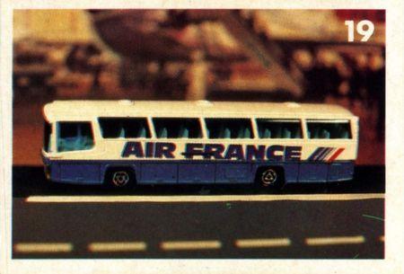 Majorette. le bus.