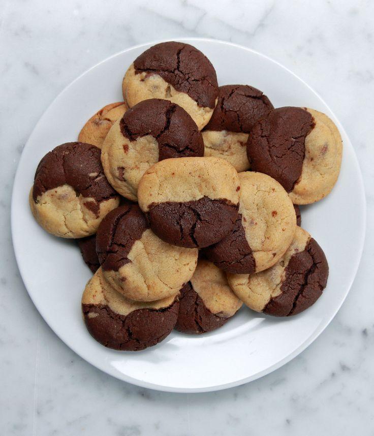 Brownie & Chocolate Chip Cookies (Brookies)