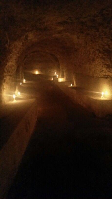 per la prima volta vengono aperti al pubblico i sotterranei dei Salesiani #maperti14 #Cagliari