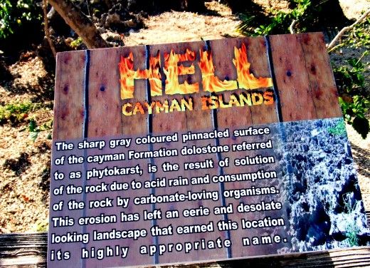 Vacation to Hell - Hell, Cayman Island,  yes I have been to hell & back