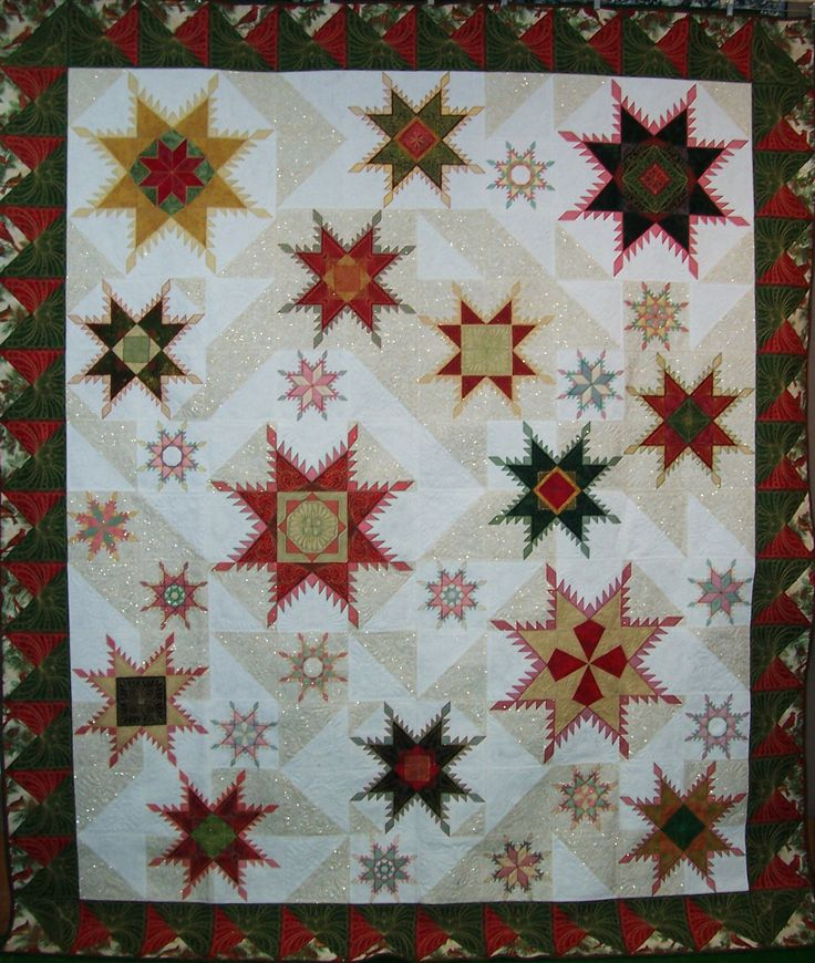 27 best Hoopsisters images on Pinterest | Embroidered quilts ... : star quilt patterns instructions - Adamdwight.com