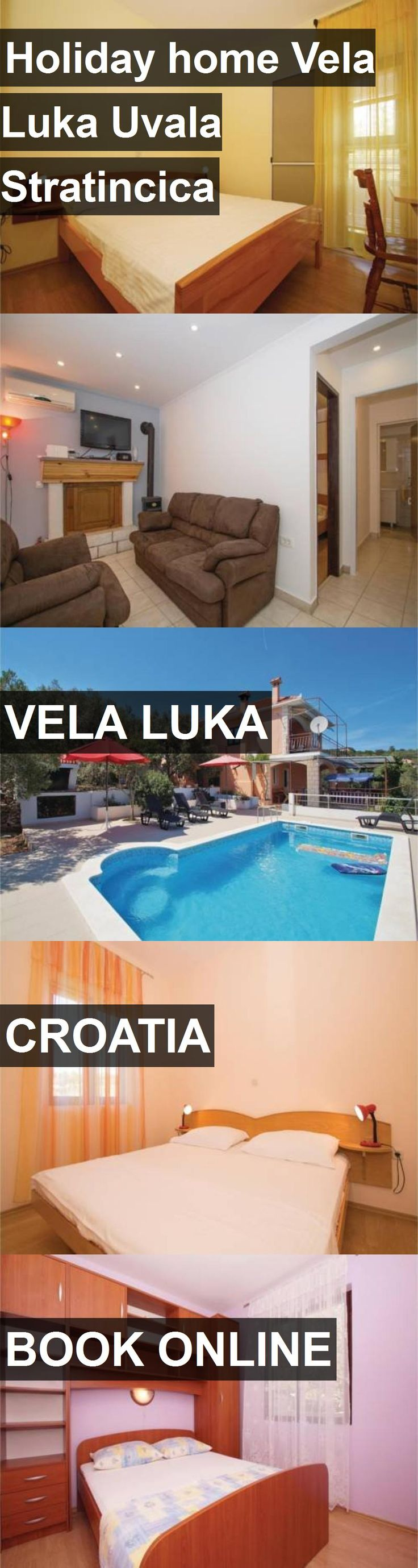 Hotel Holiday home Vela Luka Uvala Stratincica in Vela Luka, Croatia. For more information, photos, reviews and best prices please follow the link. #Croatia #VelaLuka #travel #vacation #hotel