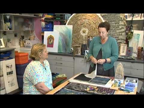 Wonderful Inspiration. Mixed Media Art and Stitch with Angie Hughes - YouTube