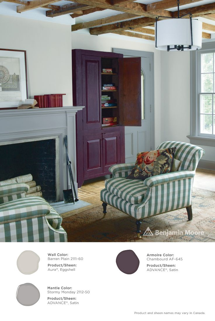 11 best images about timeless neutrals on pinterest flats mantles and bookcases for Benjamin moore aura interior matte 522