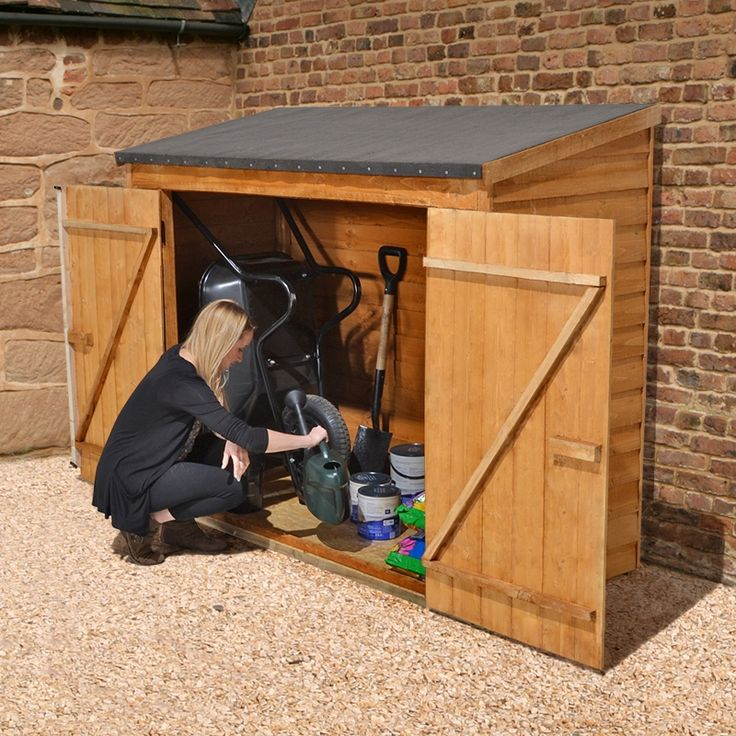 The Overlap Maxi Garden Wall Store Is An Attractive Storage Unit, Ideal For  Storing Your Garden Tools U0026 Other Garden Accessories.