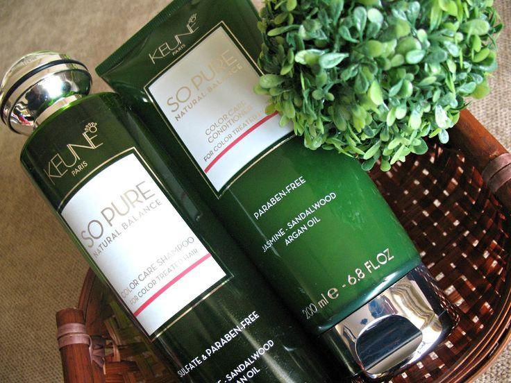 Keune So Pure Natural Balance - terapie pentru păr vopsit
