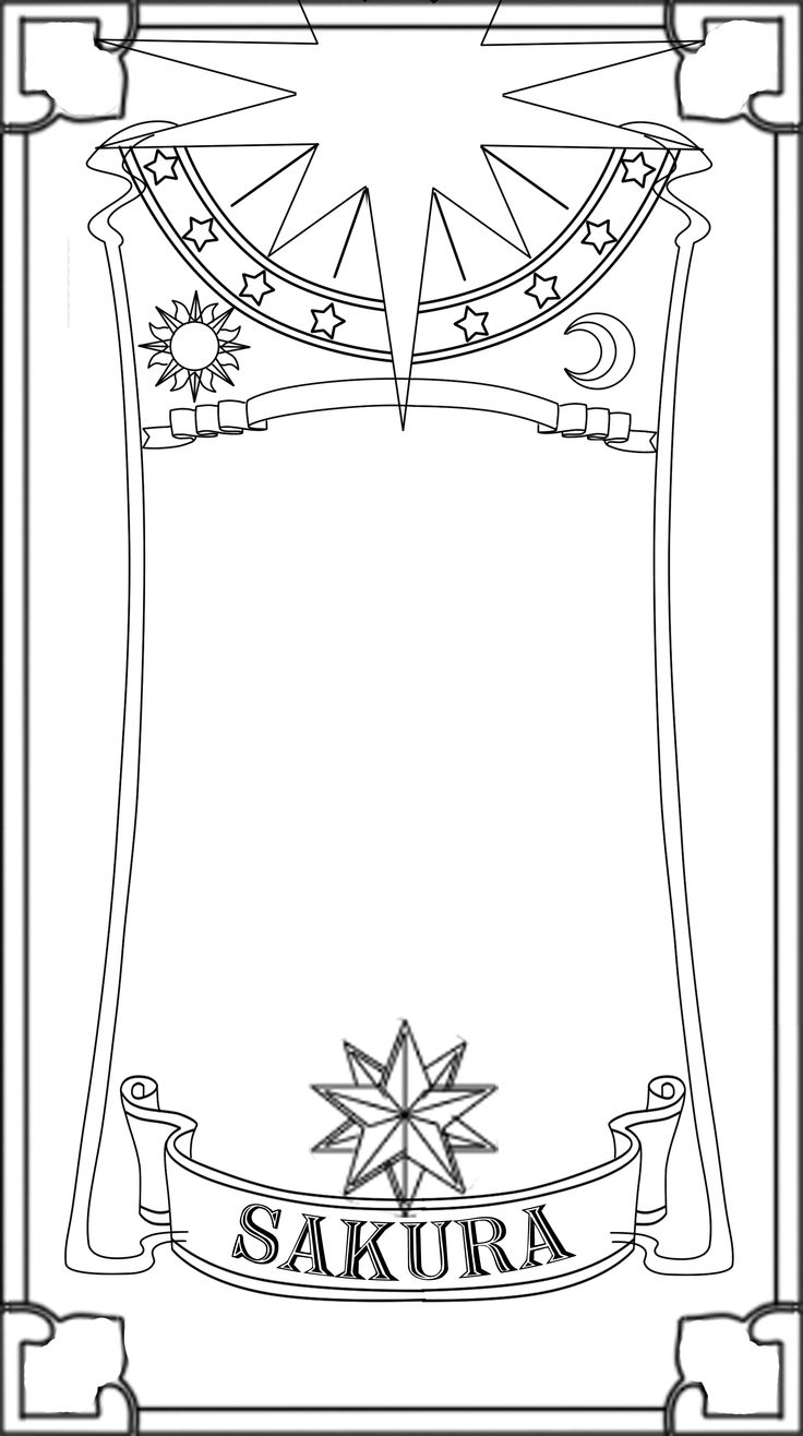 coloring pages cardcaptors - photo#33
