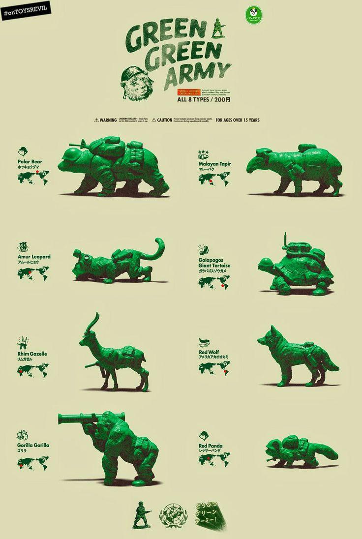 Green Green Gacha Army.
