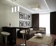 Гармоничный дизайн интерьера в стиле минимализм.