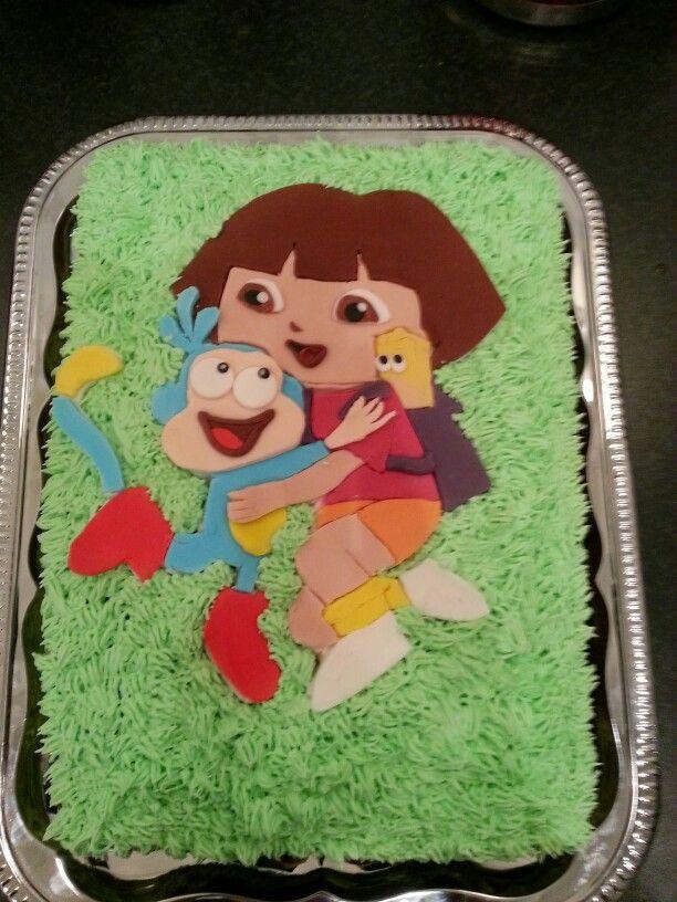 Dora the Explorer Cake.