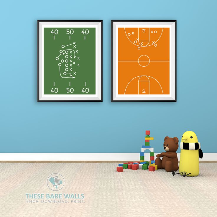 Sports Field Printable Wall Art | Sports Poster | Sports Prints | Sports Print…