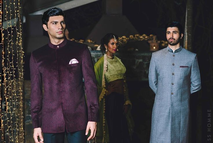 SS HOMME Wedding and Ceremonial Collection.  #sherwani #bandhgala #wedding #ceremonial