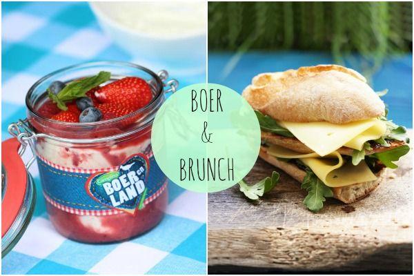 Boer en Brunch - zelfgemaakte hangop & boeren sandwich - Lekker en Simpel