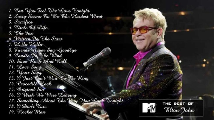 Elton John's Greatest Hits - Best Elton John Songs