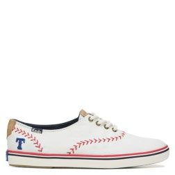 Make your team loyalty known in the Keds MLB Team Champion Canvas Sneaker from Keds.Canvas upper in a casual sneaker styleTeam logo and baseball stitch detailsLace up frontCanvas lining, cushioning insoleLightweight rubber outsoleAvailable in these teams: Atlanta Braves, St. Louis Cardinals, Chicago Cubs, Los Angeles Dodgers, San Francisco Giants, Philadelphia Phillies, Texas Rangers, Boston Red Sox, Kansas City Royals, Detroit Tigers, New York Yankees