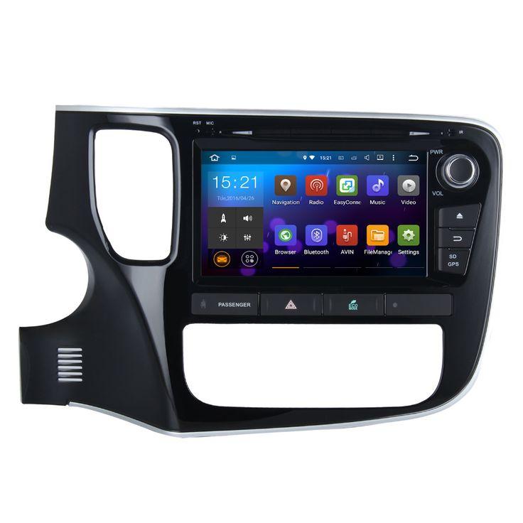 "Dasaita 8"" Android 7.1 Car GPS Player Navi for Mitsubishi Outlander 2014 with 2G16G Quad Core No DVD Radio Multimedia HDMI"