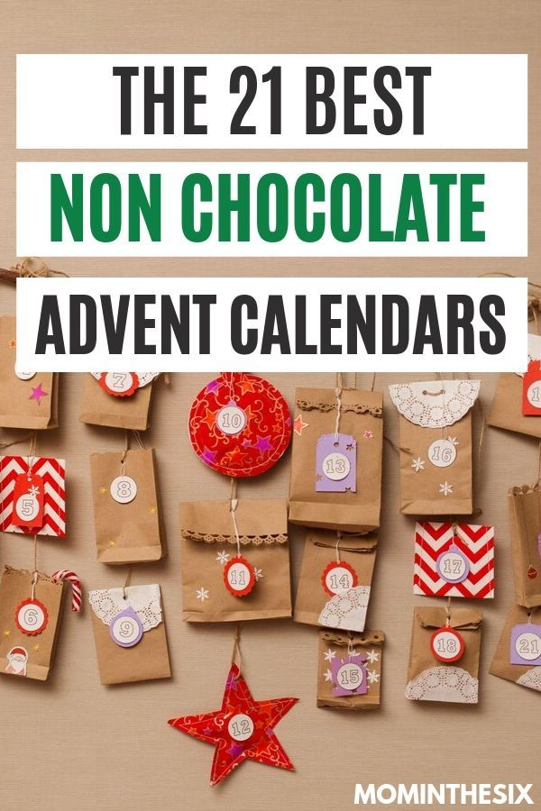 The 21 Best Non Chocolate Advent Calendars 2020 Edition Chocolate Advent Calendar Candy Advent Calendar Christmas Advent Calendar