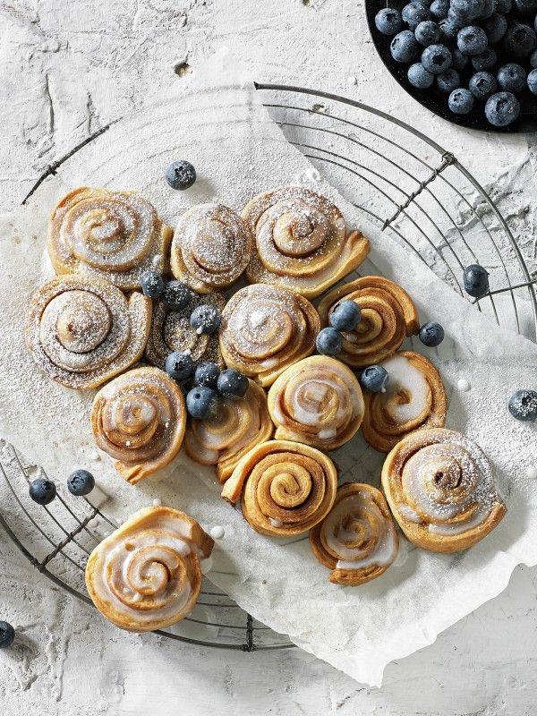 Cinnamon Scrolls Recipe   myfoodbook   Breville recipes