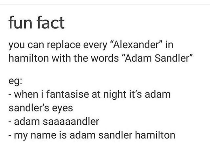 Omfg// When Adam sandler aimed at the sky, he may have been the first one to die