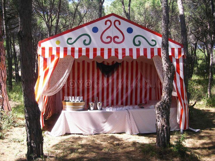 Recreación de #caseta de feria. ----- Recreation of the fair 'casetas'. | Goyo…