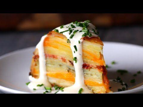 (3) Loaded Scalloped Potato Dome - YouTube