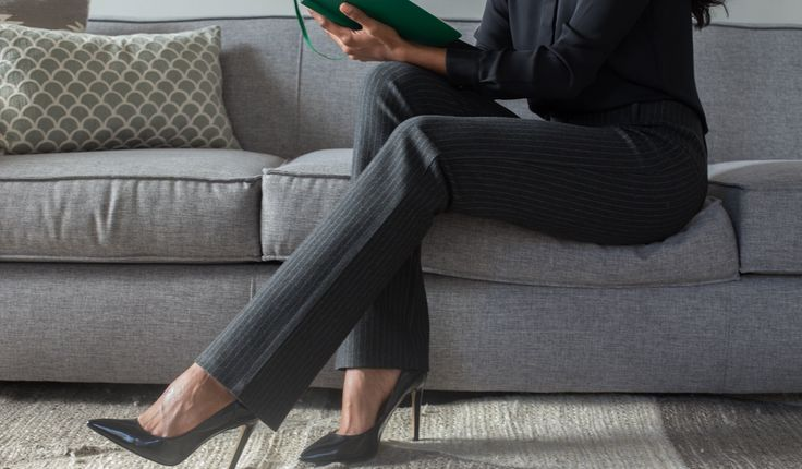 Straight-Leg   Silver Dress Pant Yoga Pants