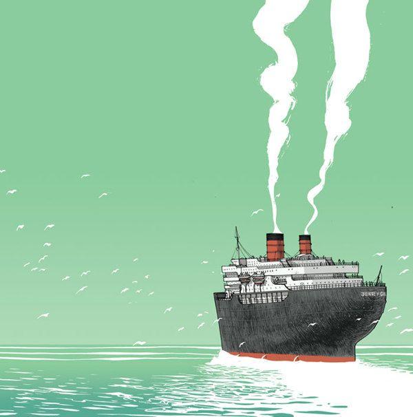Bon Voyage by Jared Muralt, via Behance