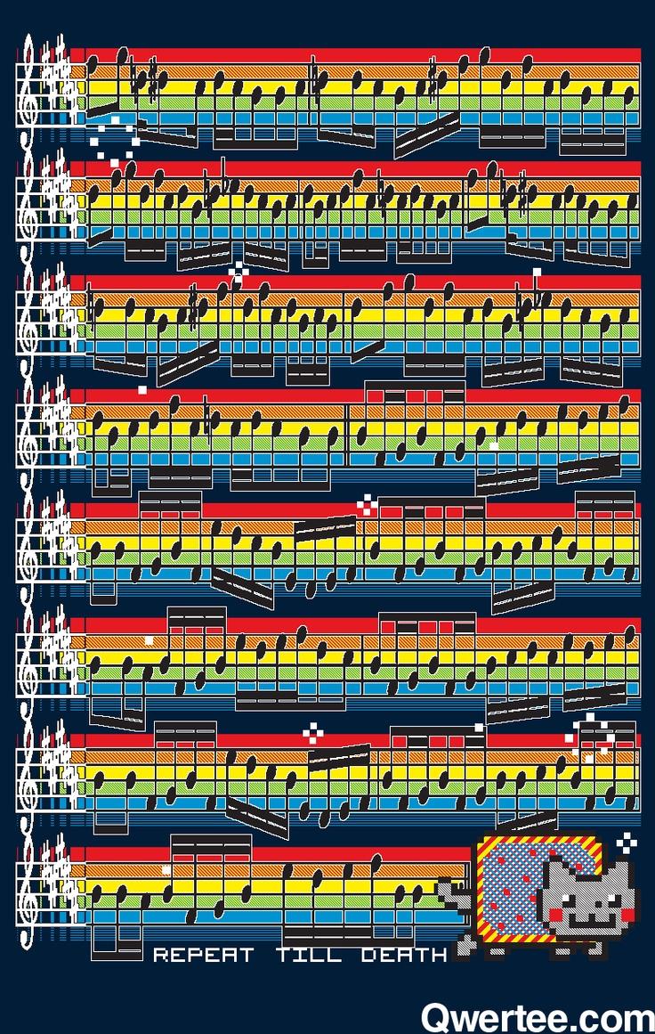 Nyan-Cat Music Sheet