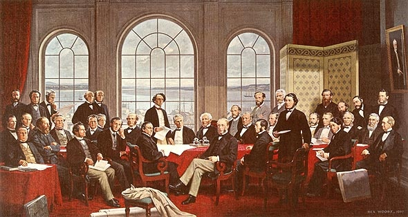 Father of Confederation, by Robert Harris.