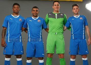 GNK Dinamo Zagreb 2013/14 PUMA Home and European Kits