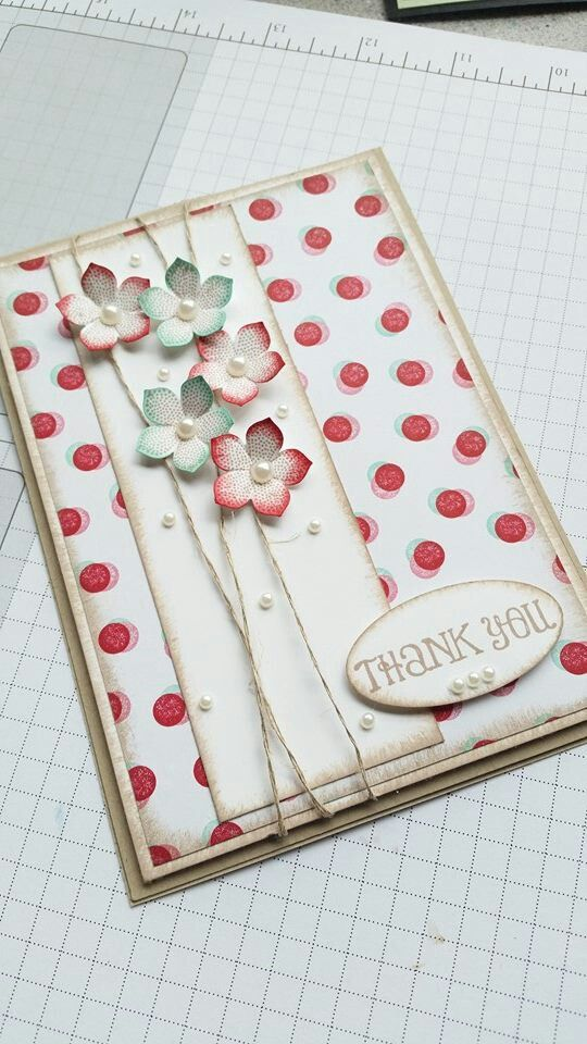Stampin up ⊱✿-✿⊰ Follow the Cards and paper crafts board. Visit GrannyEnchanted.Com for thousands of digital scrapbook freebies. ⊱✿-✿⊰