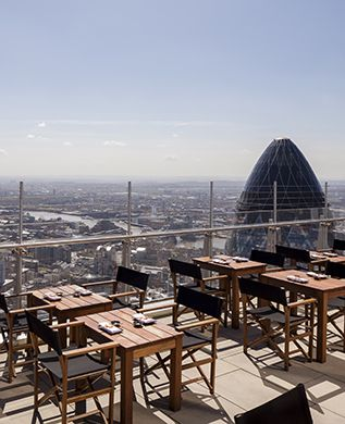 rooftop restaurants London