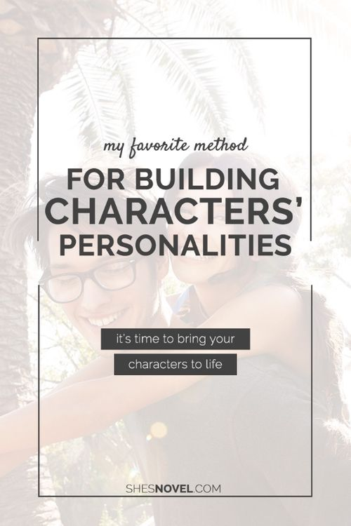 Want to bring your characters to life on the page? Check out this post from ShesNovel.com that explores the Myers Brigg Type Indicator (MBTI) and how you can use the results to better understand your characters' personalities.