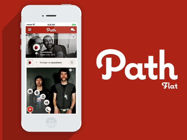 Path Flat Concept for ios7