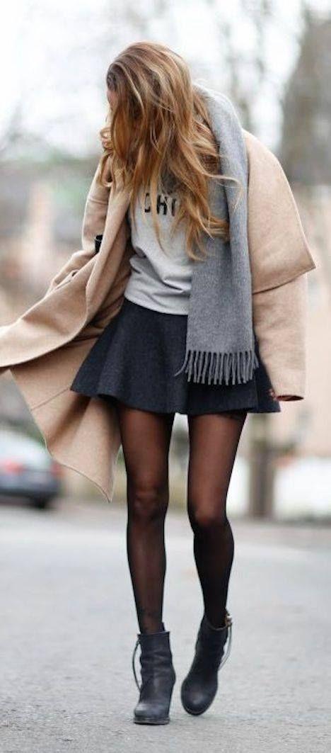 Petite jupe patineuse Source : confidentielles.com