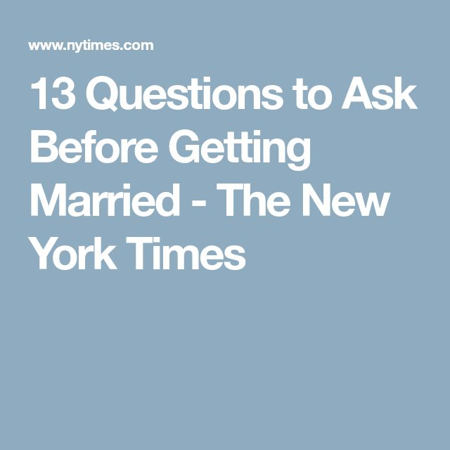 dating questions new york times