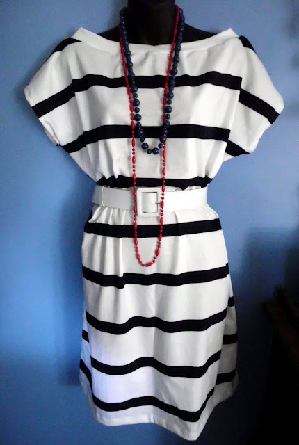 Quick and easy t shirt dress tutotial draw own pattern for Easy to make t shirt dress