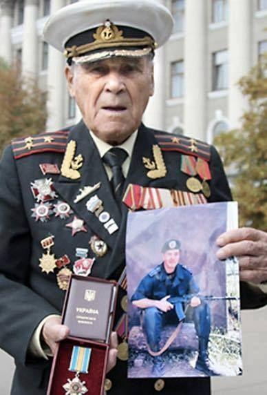 В сети припомнили настоящего ветерана Второй мировой, внук которого погиб на Донбассе - Апостроф