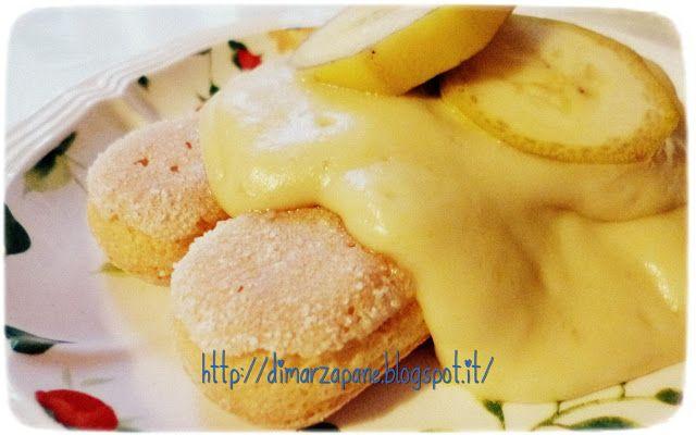 ...di marzapane...: Crema alla Banana