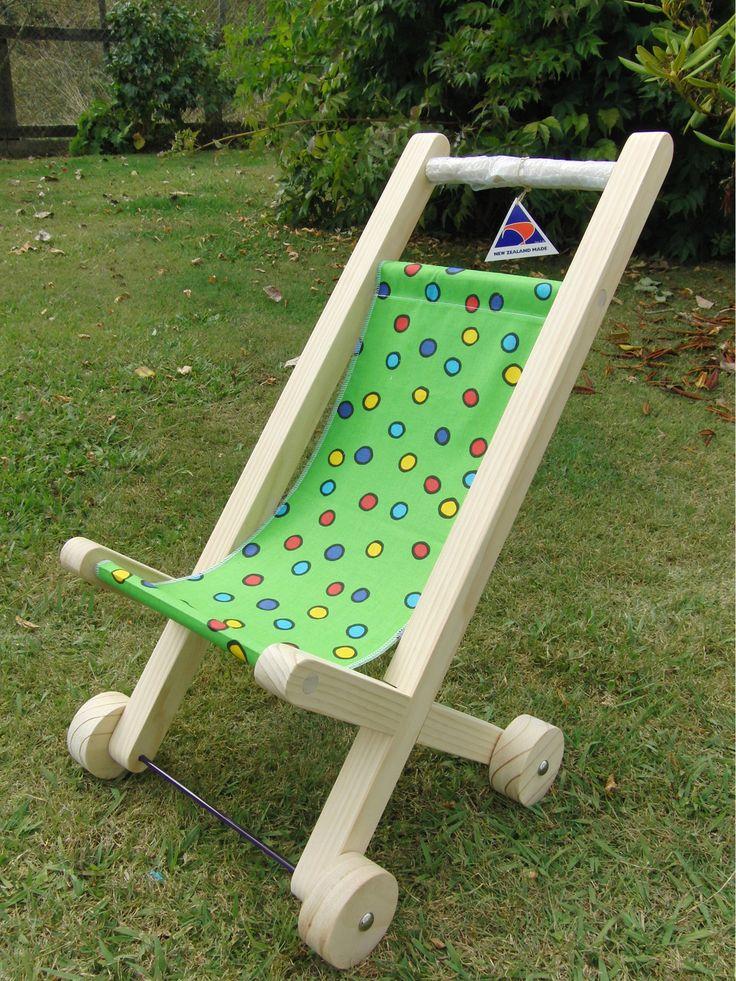 Wooden Pushchair - Struan Toymakers