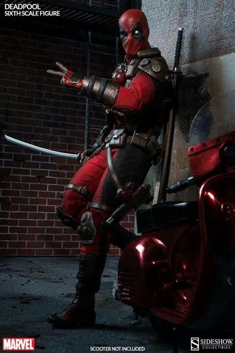 Sideshow Reveals Badass Deadpool 1/6th Scale Figure
