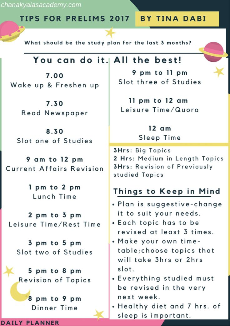 Best  Study Time Table Ideas On   Back To School
