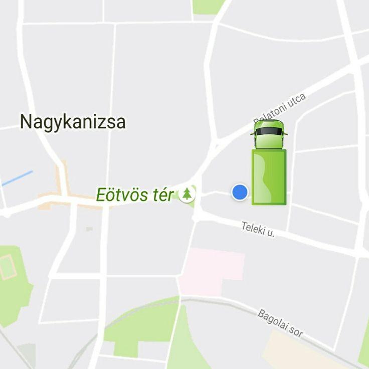 Szép zöld furgon Nagykanizsán! #argo  TÖLTSD LE AZ ARGO ANDROID APPOT!!!