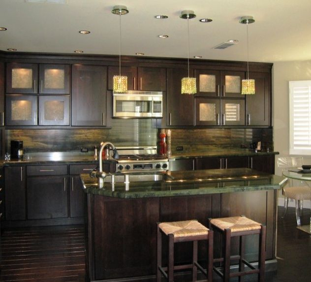 Dark Green Kitchen: Best 25+ Green Granite Countertops Ideas On Pinterest