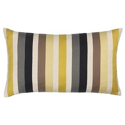 Harlequin Babushka Cushion, Grey / Yellow