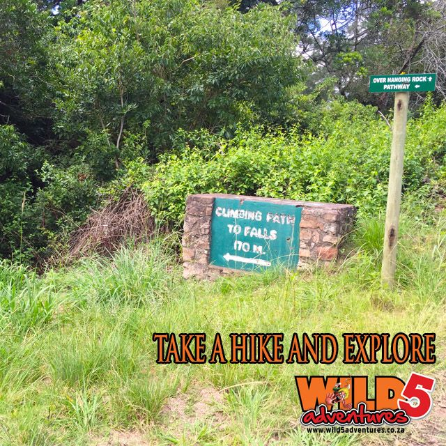 Take a relaxed 170m hike down the gorge to the falls at Wild 5 Adventures, Oribi Gorge. Just be sure to bring some sun block and drinking water. If you do forget, you can always pop into our kiosk for something to drink and snacks, or even the restaurant at Oribi Gorge Hotel.