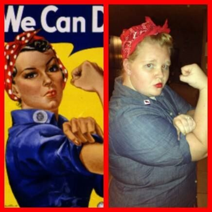 diy rosie the riveter halloween costume - Rosie The Riveter Halloween Costume