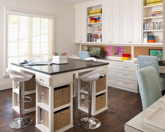 Kaylin Fitzpatrick: craft room inspiration...  WOW! #craftstudio-craftroomideas