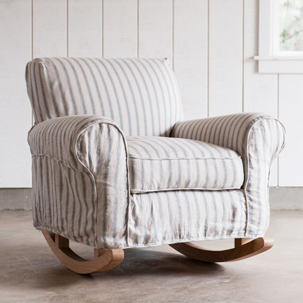 Rachel Ashwell Shabby Chic Couture Finn Rocker great chair for breastfeeding and rocking a baby