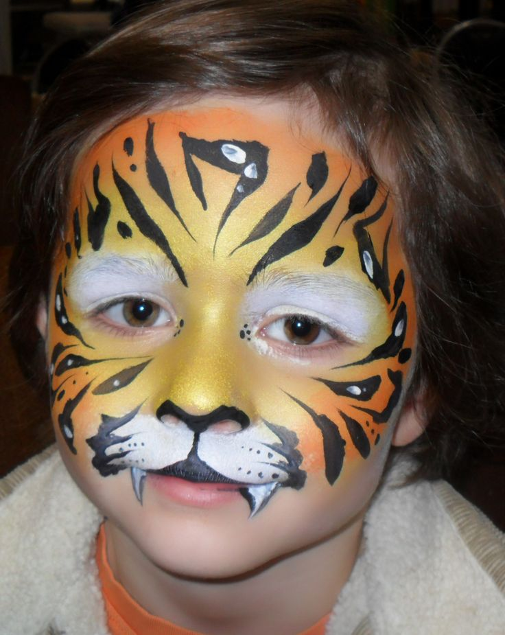 Animal Face Painting | Tiger| Jungle Animal
